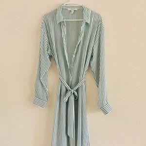 Long Sleeve Shirt dress womans size XL